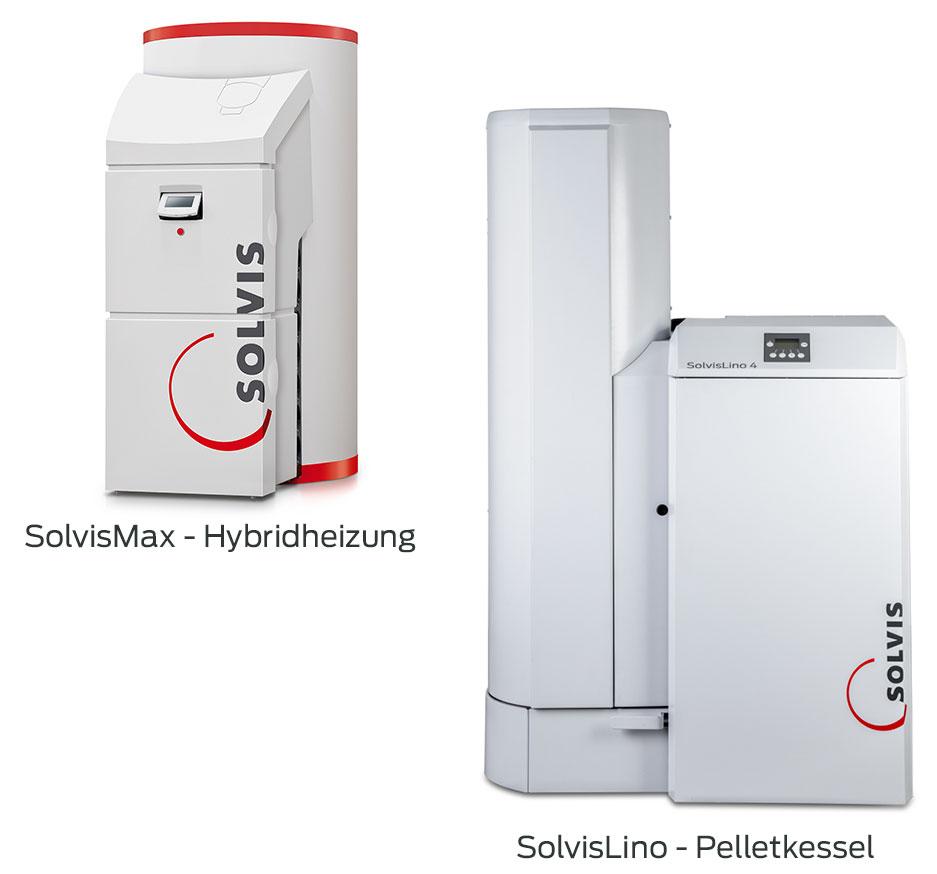 SolvisLino Pellet-Heizsystem