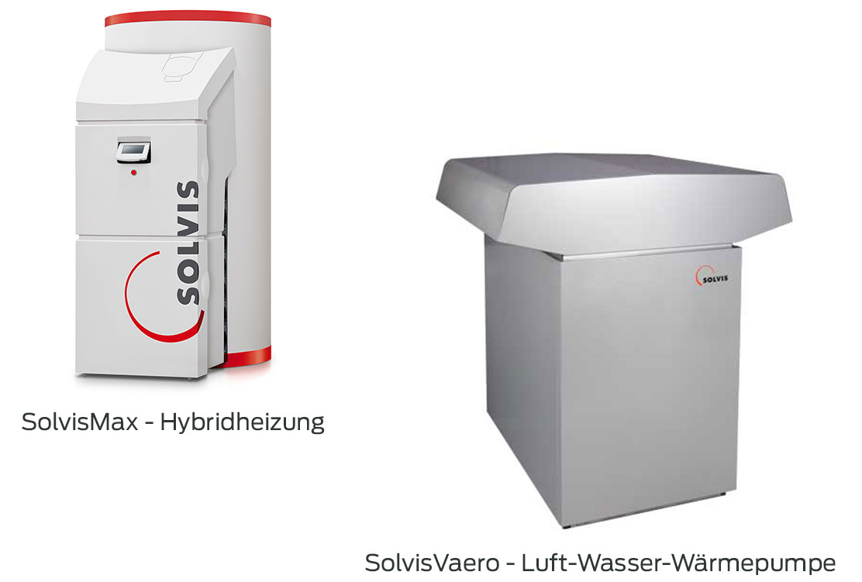 Wärmepumpe Solvis Vaero und SolvisMax